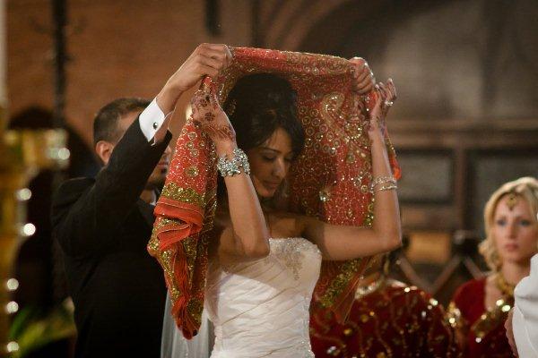 Sweet Kansas City Indian Fusion Wedding