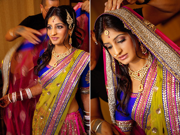 Traditional Indian Bridal Style By Global Photography