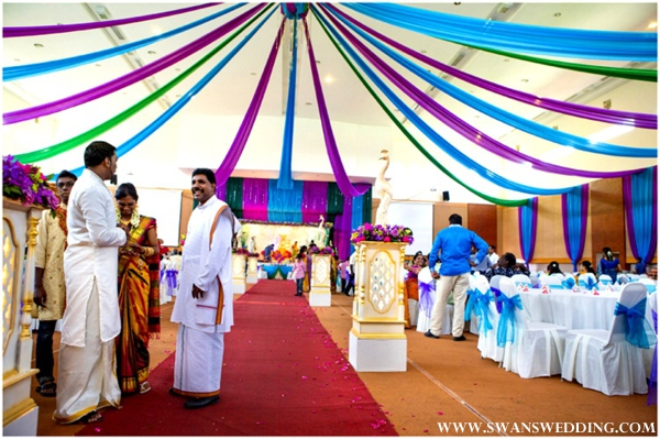 Indian Wedding Lunch Reception With