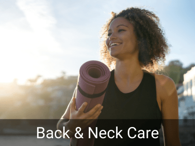 Back and neck care orthopaedics