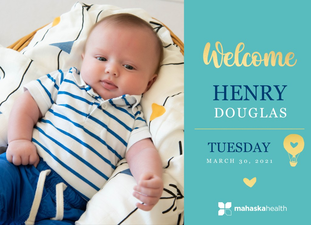 Welcome Henry Douglas! 8