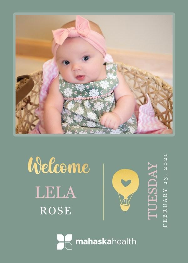 Welcome Lela Rose! 8