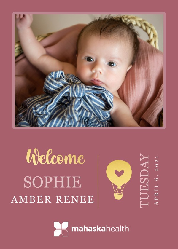 Welcome Sophie Amber Rose! 8