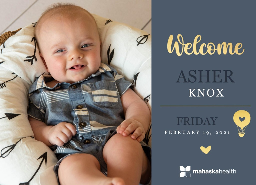 Welcome Asher Knox! 8