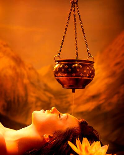 Beneficios de la terapia Shirodhara