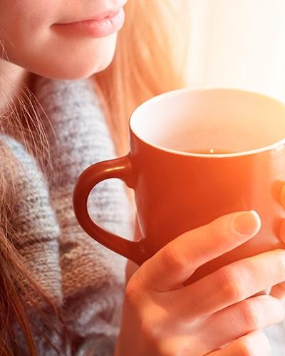 Bebidas calientes durante el ciclo menstrual