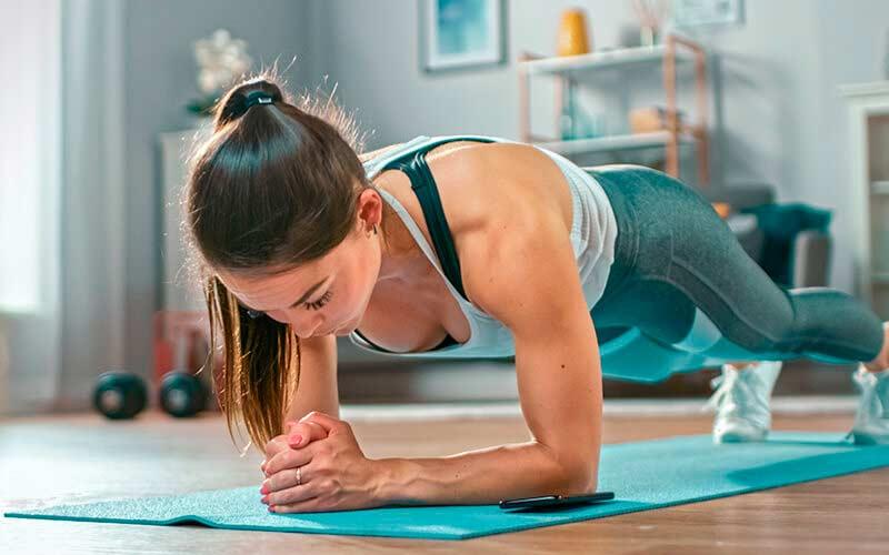 El ejercicio descongestiona la piel