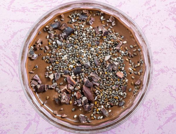 Pudín de Chocolate y Chía