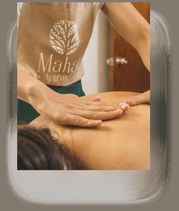 Masajes para reducir contenido graso y exfoliar la piel