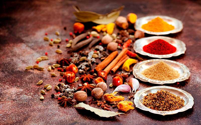 Como usar las especias en la cocina Ayurveda