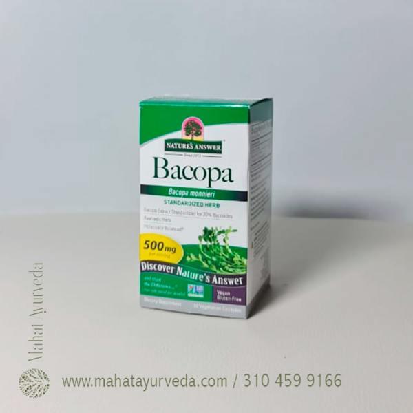 Comprar Bacopa 500 mg - 90 Caps