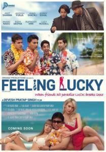 """Film Poster of """"Feeling Lucky"""" (2016)"""