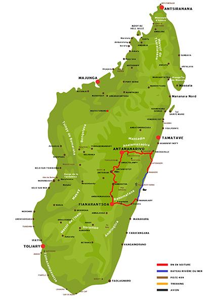 Le Sud Est malgache Solidaire et la Rn7