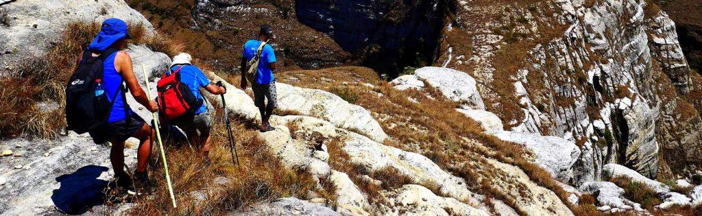 trekking dans le massif du Makay à Madagascar