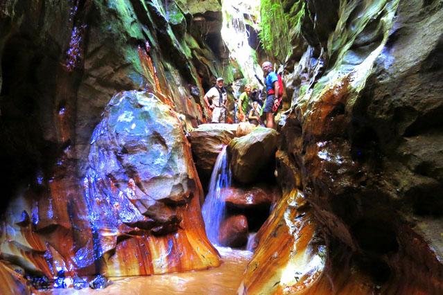Les nombreux canyons de la rivière Makay à Madagascar
