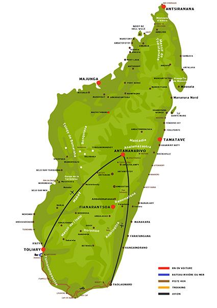 Le Grand sud malgache