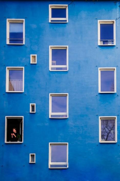 Breakfast in Berlin - Blue morning