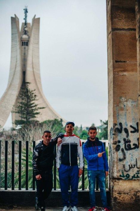 Jeunes de la cité diar el mahçoul - Salembier Alger
