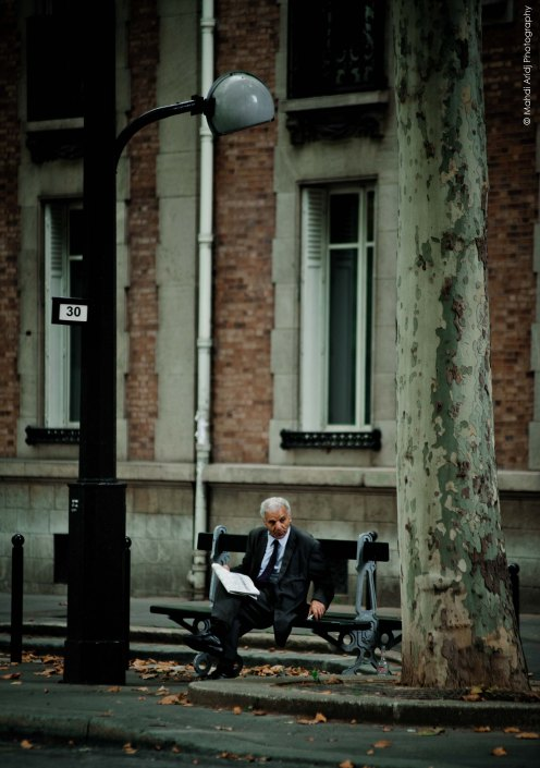 Retirement - Courcelles - Paris - Street photography