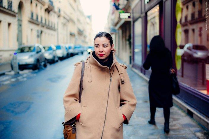 Ines - Lafayette - Paris - Street photography