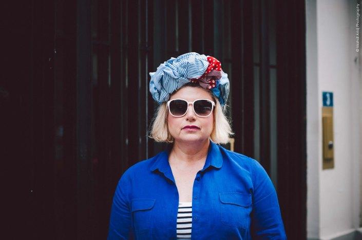 Miss Hat - Villiers - Paris - Street photography