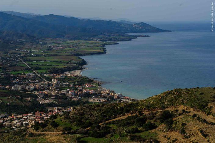 Azeffoun vue sur la mer - paysage - landscapa