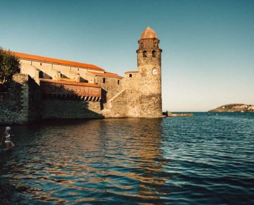 La baigneuse de Collioure - Swimmerof Collioure