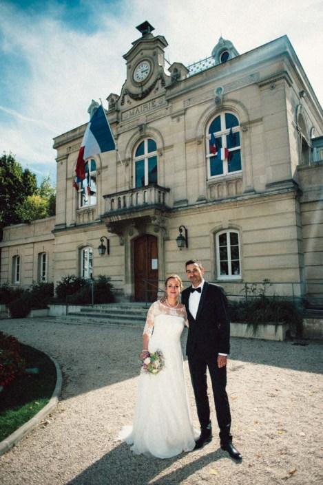 Wedding in Paris - city hall