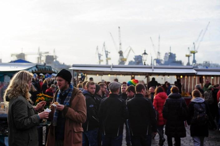 Hamburg fish market - Fischmarkt 22