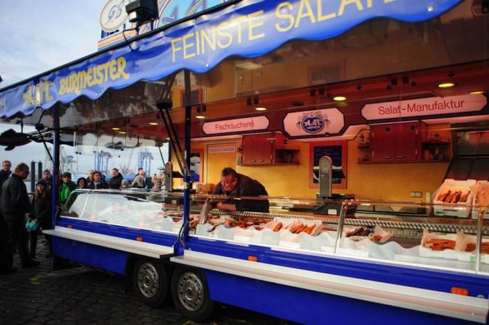 Hamburg fish market - Fischmarkt 15