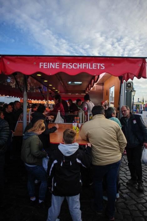 Hamburg fish market - Fischmarkt 16