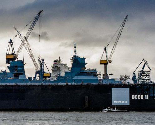Dock Port of Hamburg - Port de Hambourg Dock 11