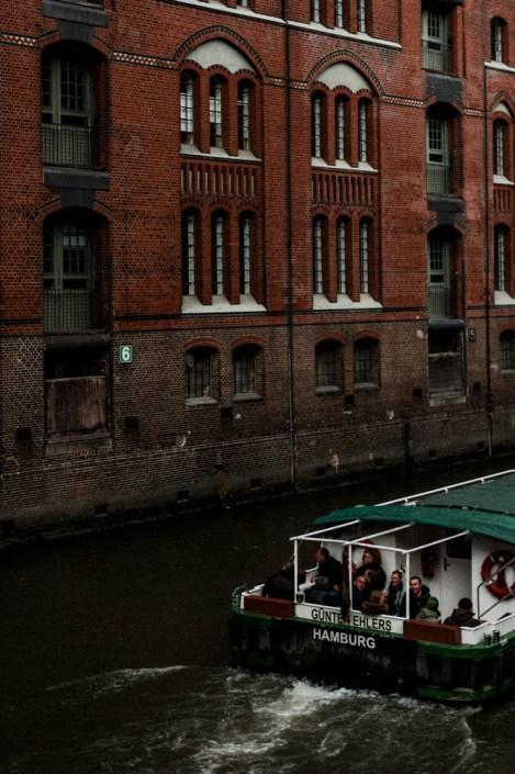 Boat tour - Speicherstadt