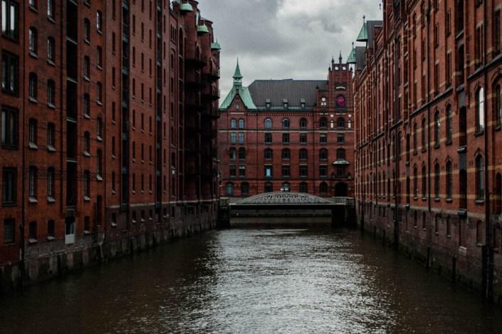 The Elbe - Speicherstadt - Hamburg