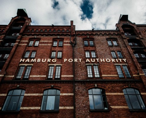 Hamburg port authority - Speicherstadt