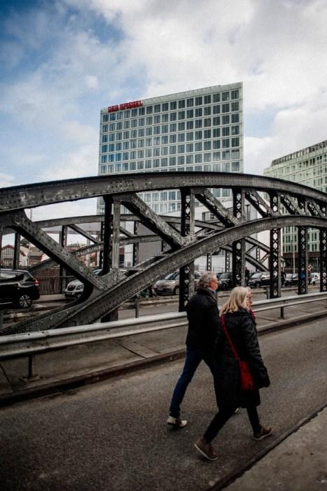 Aview on Der Spiegel buildung from Speicherstadt
