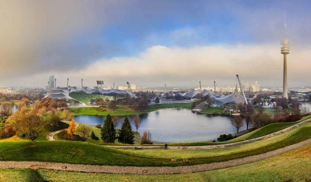 Olympiapark Munich - Parc olympique de Munich