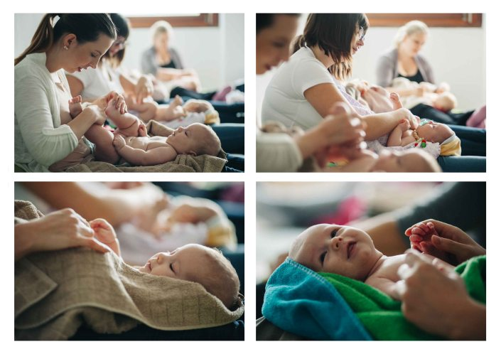Babies enjoying the massage class - The midwifery project - Hebammenprojekt - Projet sur les sages - femmes en Allemagne