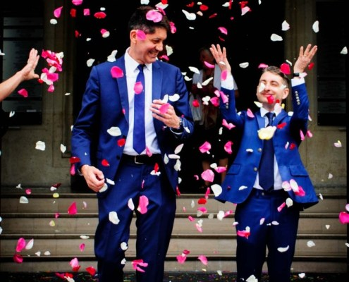 LGBT wedding photographer in Paris 8