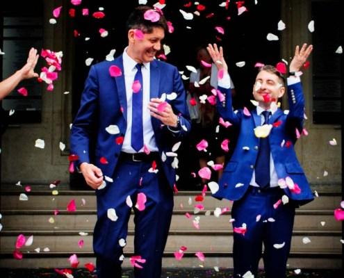 LGBT wedding photographer in Paris 8