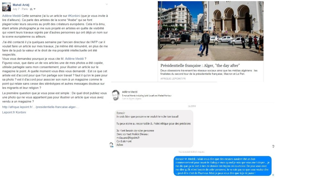 Copyright et non-respect des droits d'auteur en Algérie 9