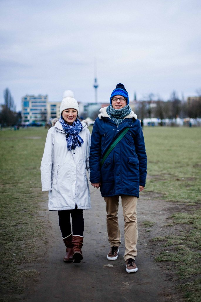 Pregnancy photography in Mauer Park - Berlin