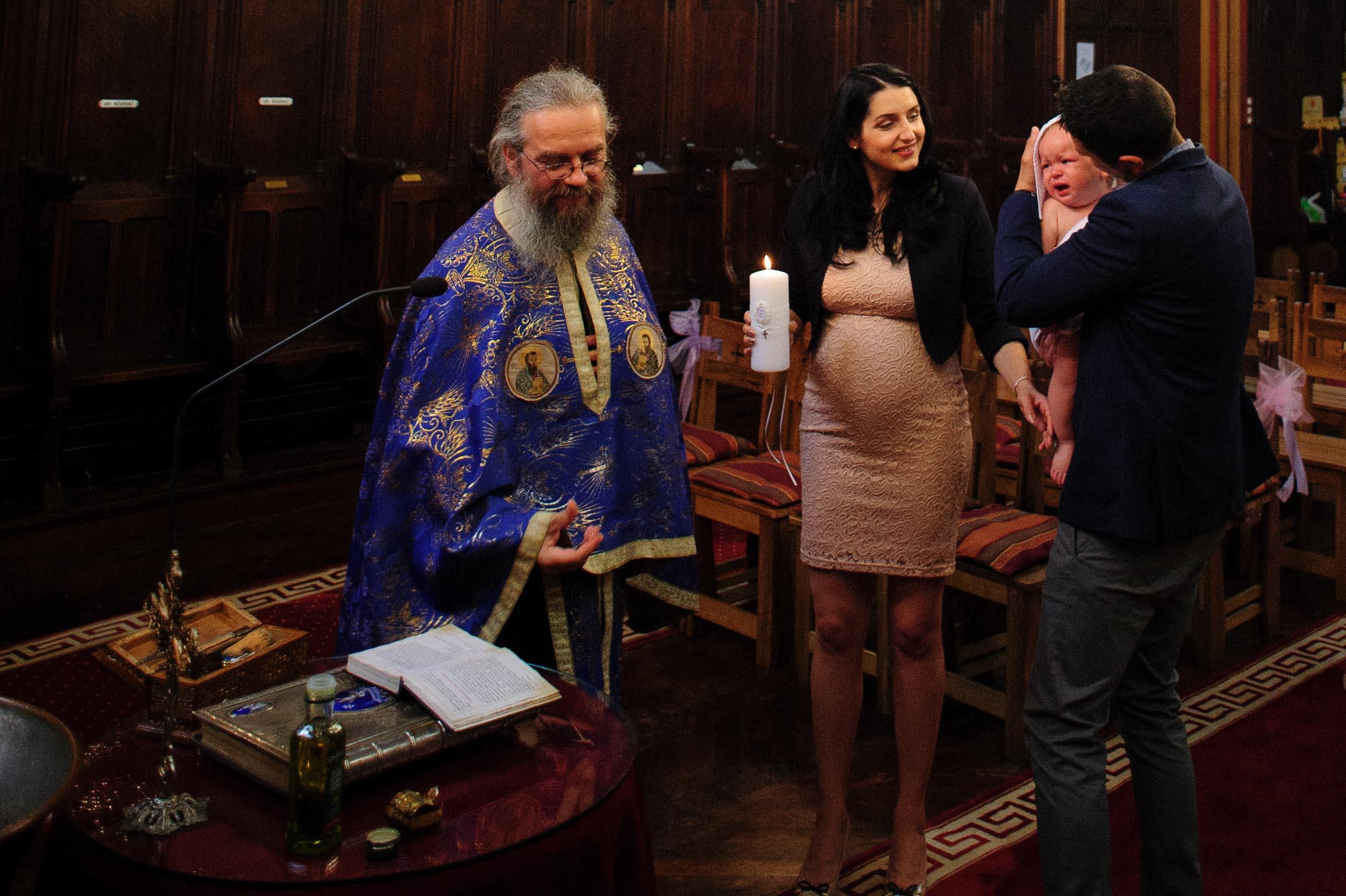 Photographe de Baptême à Paris - Orthodox baptism photographer in Paris - Christening