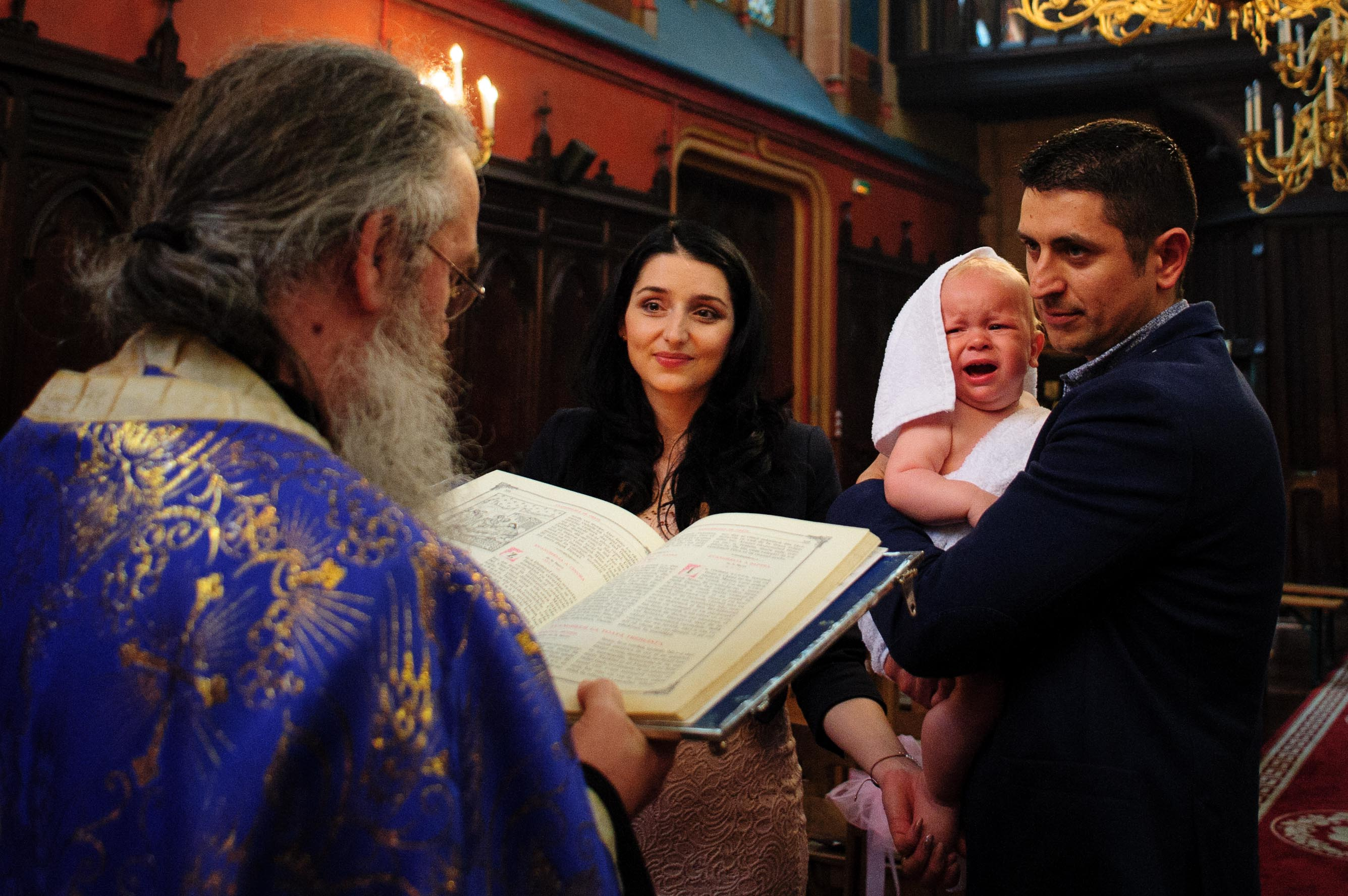 Photographe de Baptême à Paris - Orthodox baptism photographer in Paris - Christening