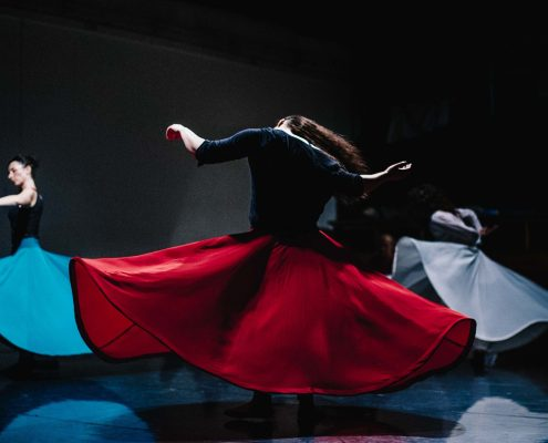 Trans n Dance - Sufi whirling by Rana Gorgani