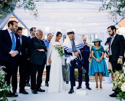 Jewish wedding photography- Under the chuppah - Mariage Juif sous la Houppa