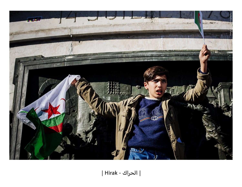 Hirak - الحراك - Mouvement du 22 Février 2019 à Paris - The 2019 Algerian protests in Paris