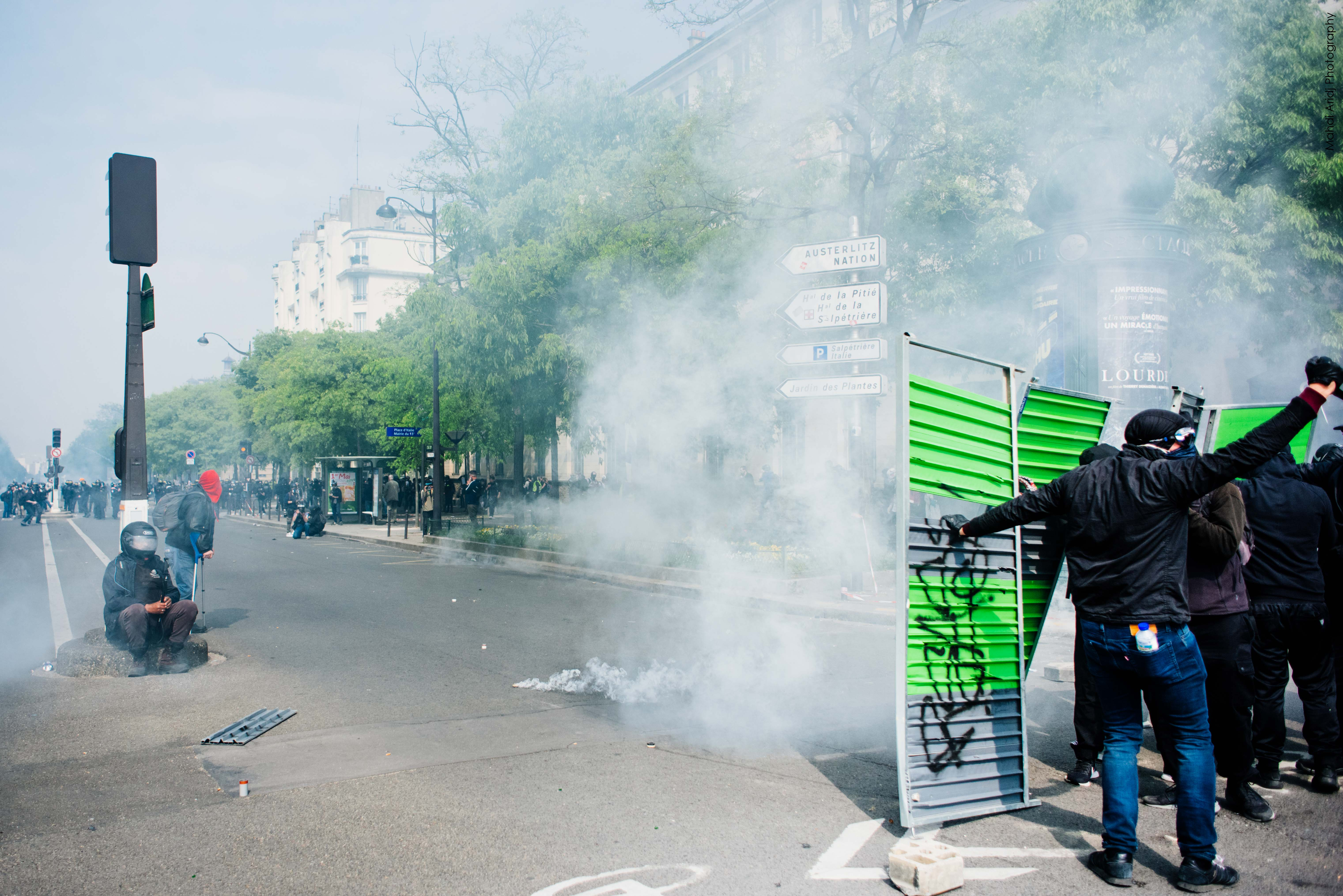 Les photos de la manifestation du 1er Mai 2019 à Paris - Pictures of the Paris May Day protests 2019