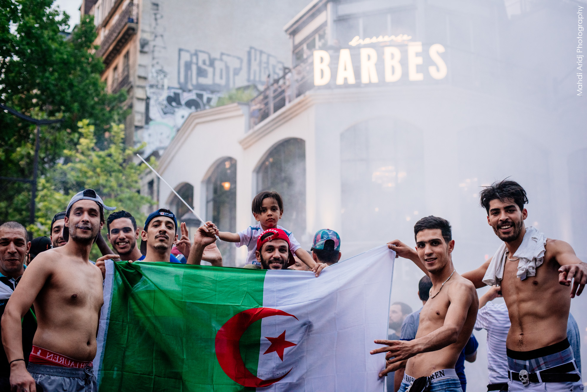 Quand les fennecs font vibrer Barbès - Barbes shivers for the Fennecs - CAN2019