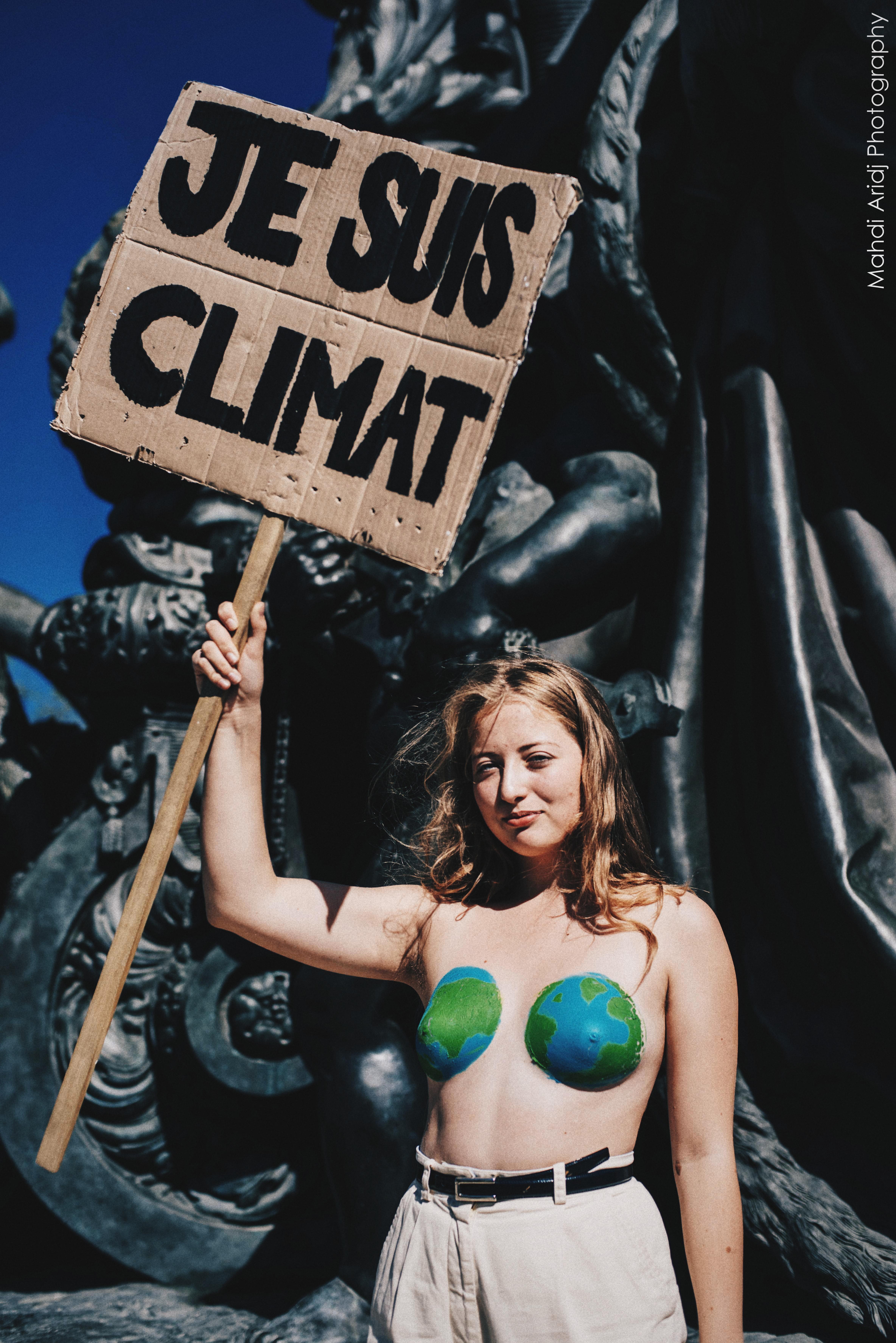 Marche pour le climat à Paris - Global climate strike Paris